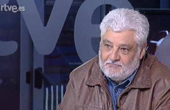 El reportero de TVE Vicente Romero