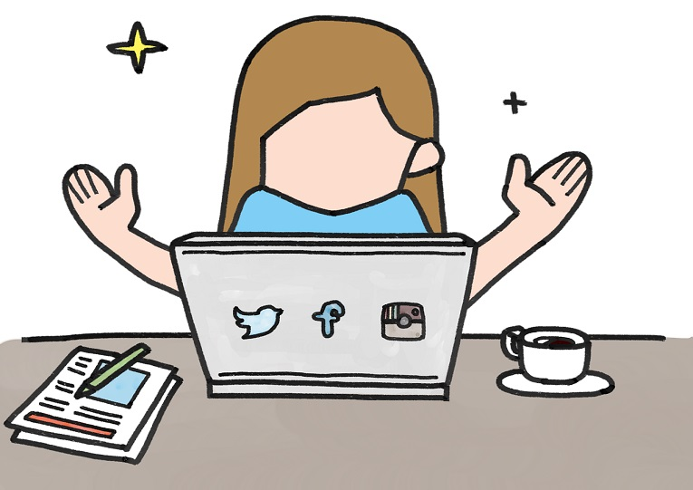 Los periodistas han cambiado su trabajo por las redes sociales