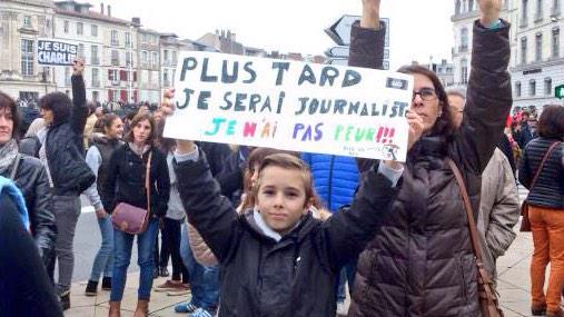 Mamá, quiero ser periodista