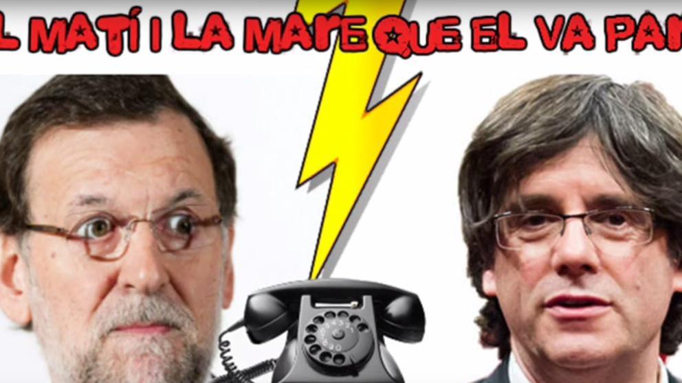 La broma del imitador de Rajoy a Puigdemont Periodismo