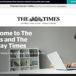 'The Times' pasa de las noticias en tiempo real