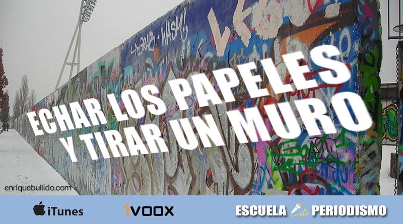 Programa dedicado a la pregunta de un periodista que provocó la caída del Muro de Berlín