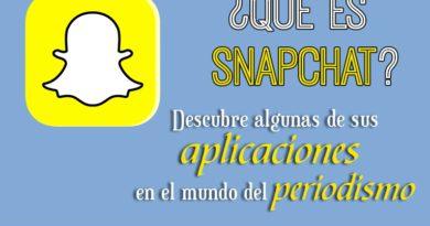 Cómo usan Snapchat los medios y los periodistas