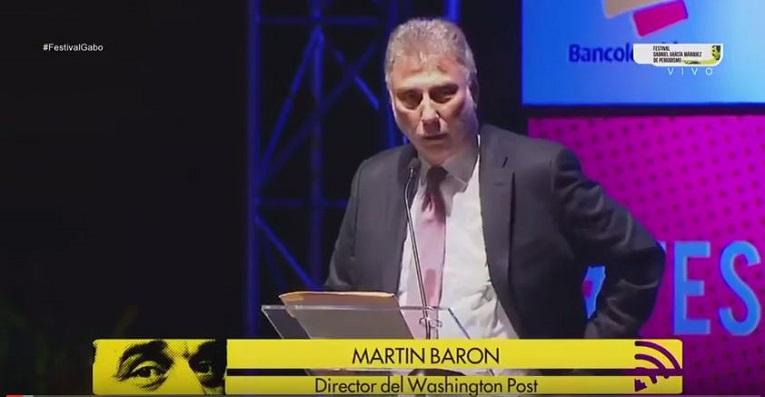 Discurso Martin Baron, Premios Gabo 2016