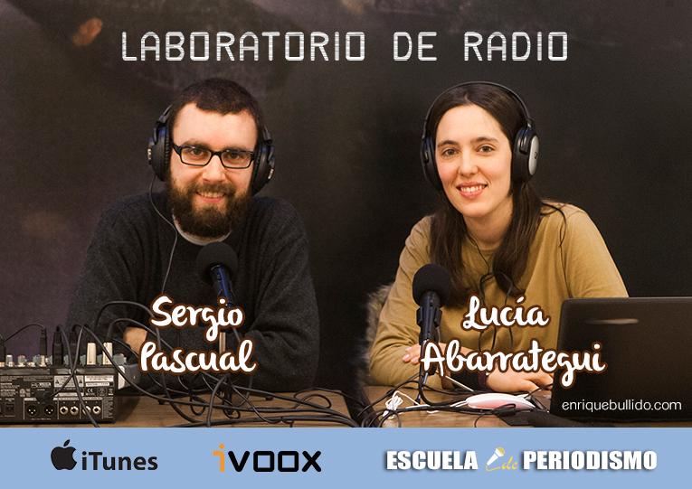 Proyecto de radio intinerante para niños y mayores impulsado por Sergio Pascual y Lucía Abarrategui