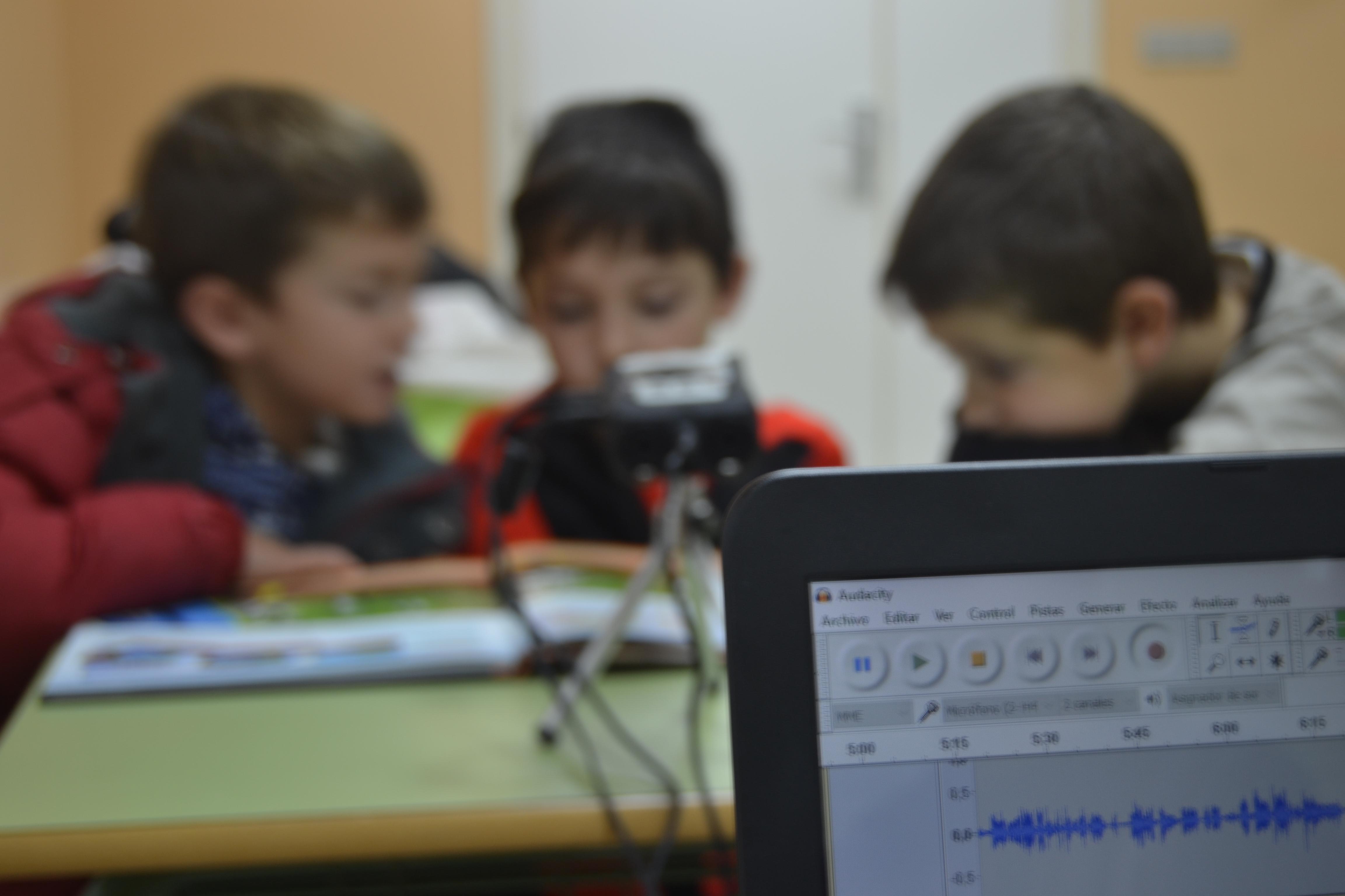 Talleres de radio para niños