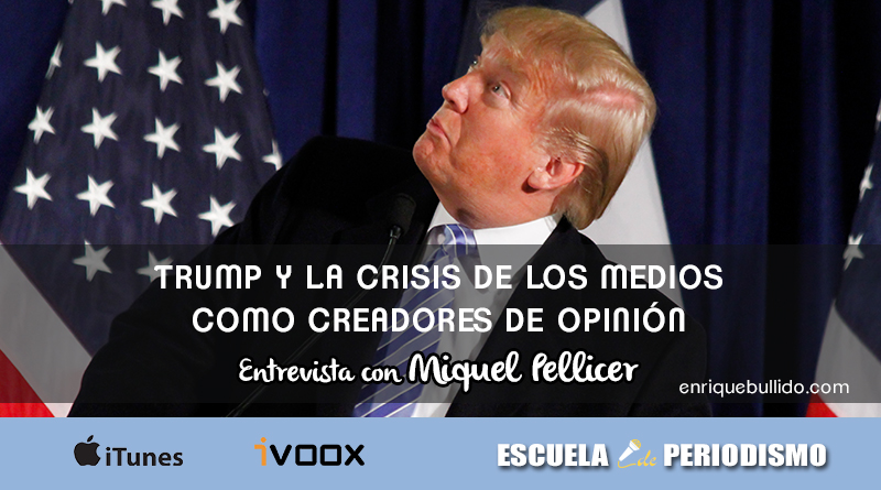 Entrevista a Miquel Pellicer sobre Trump y las elecciones de EEUU