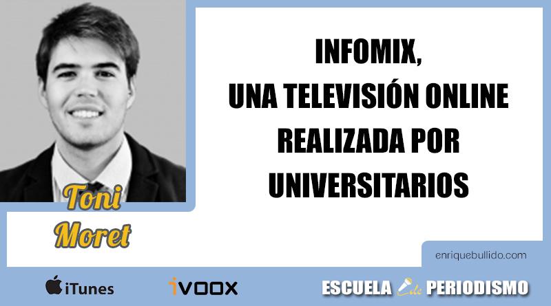 Toni Moret ha llevado su proyecto Infomix a Lanzadera de Juan Roig