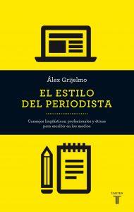 Libro sobre redacción periodística para aprender cómo se escribe una noticia