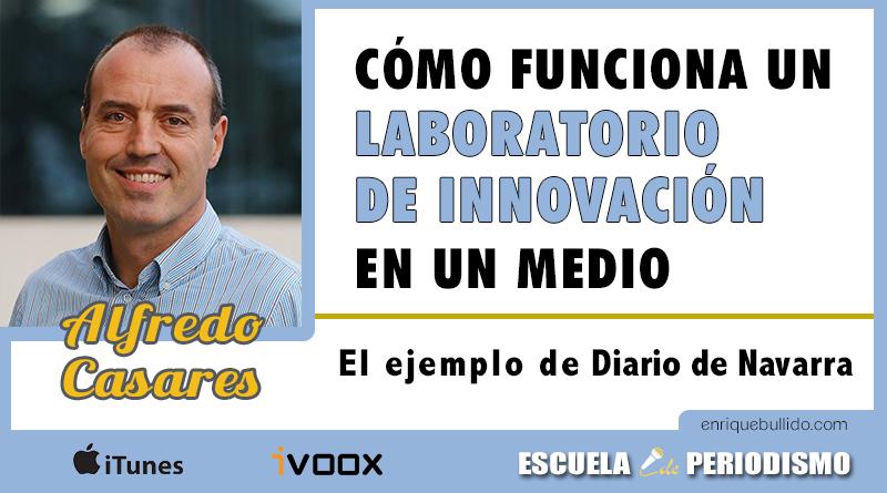 Programa del podcast Escuela de Periodismo dedicado a cómo funcionan los laboratorios de innovación