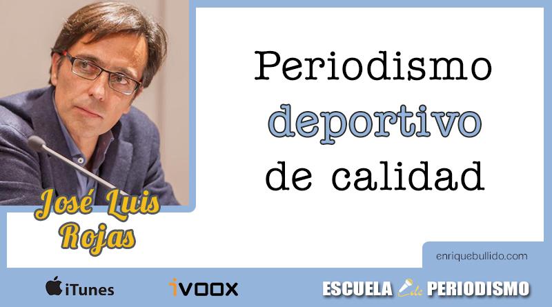 Entrevista a José Luis Rojas Torrijos en el podcast Escuela de Periodismo