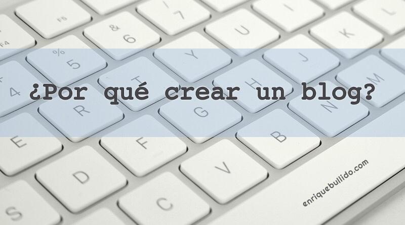 Un blog es una herramienta muy útil y beneficiosa para todo periodista