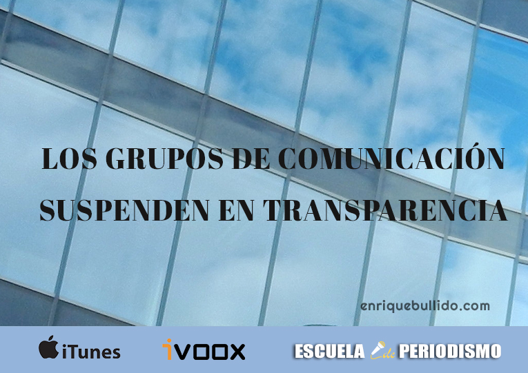Los principales grupos de comunicación suspenden en transparencia y buen gobierno según un informe