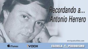 Recordando a Antonio Herrero