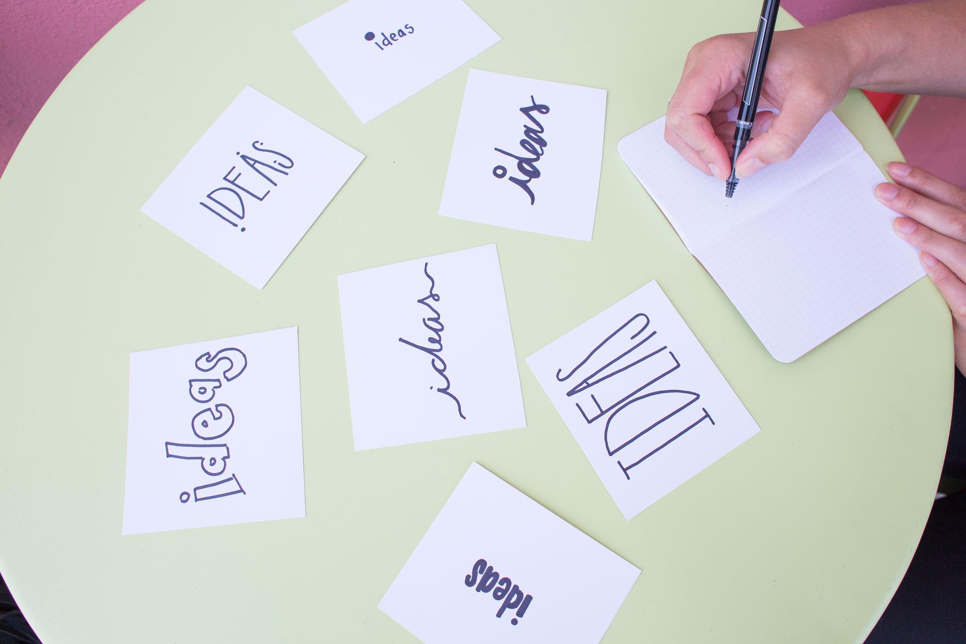 Cómo hacer una lluvia de ideas para un proyecto